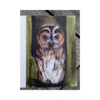 Otis the Owl greetings card