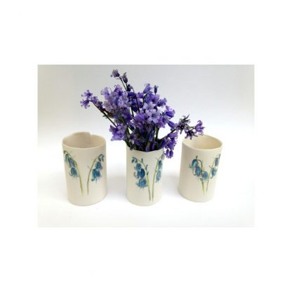 Bluebell wrap vase - small