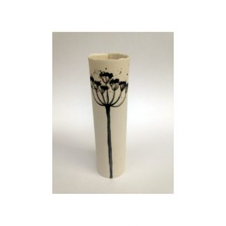 Cow Parsley wrap vase - small