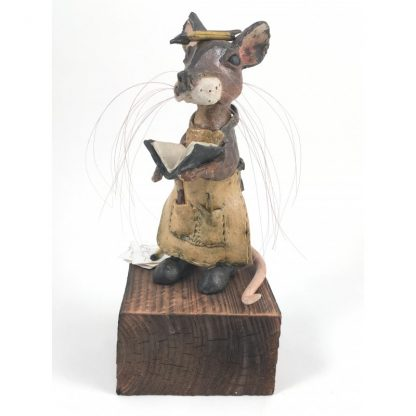 Mill Mouse greetings card - Sketchbook Mouse