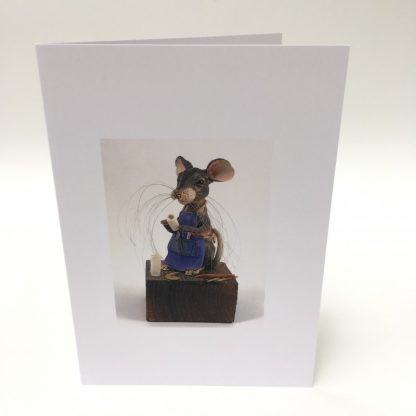 Mill Mouse greetings card - Potter Mouse