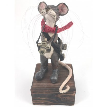Mill Mouse greetings card - Photography Mouse
